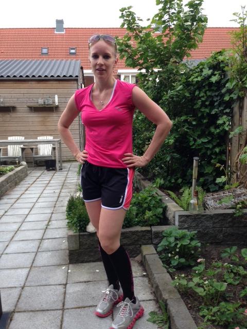 spataderen en hardlopen